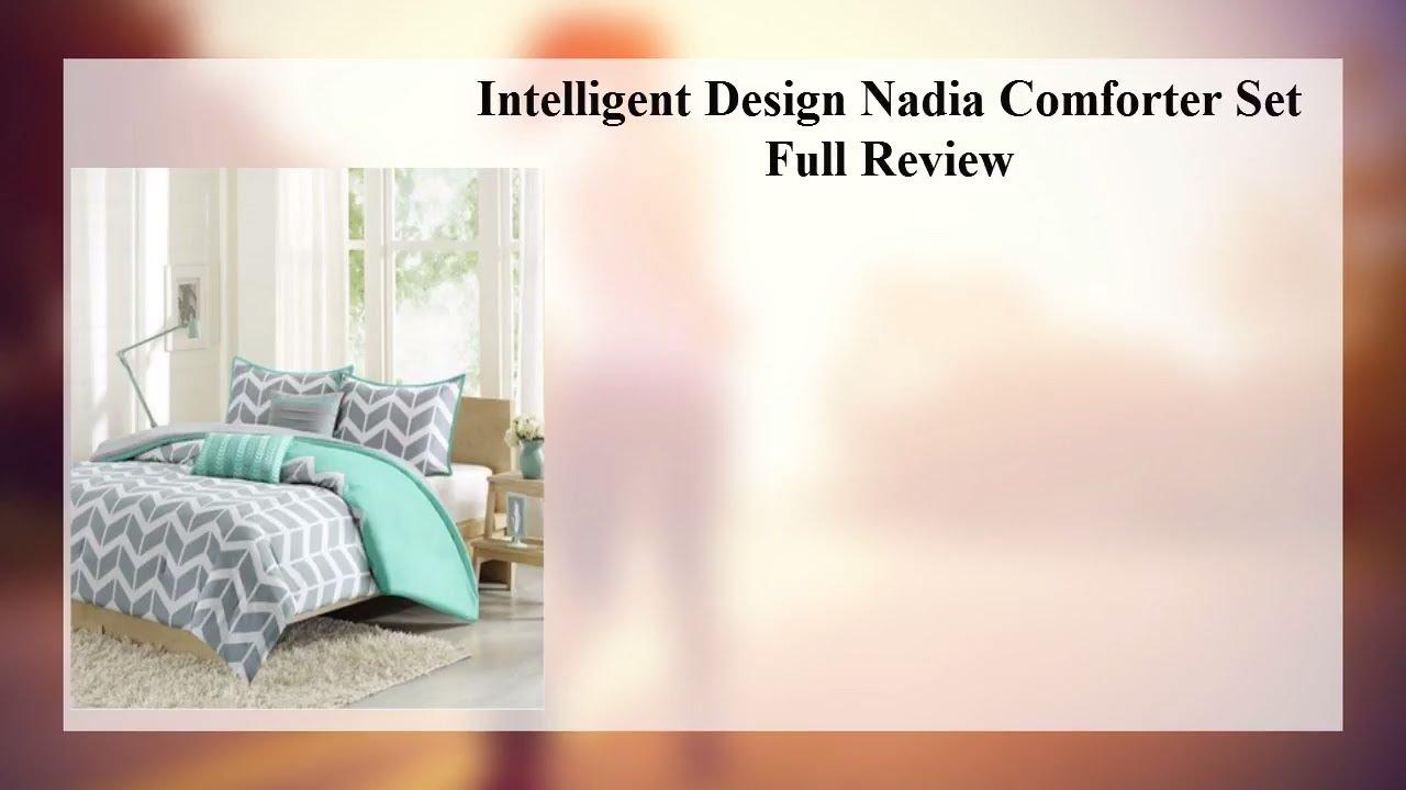 Intelligent Design Nadia Comforter Set Youtube
