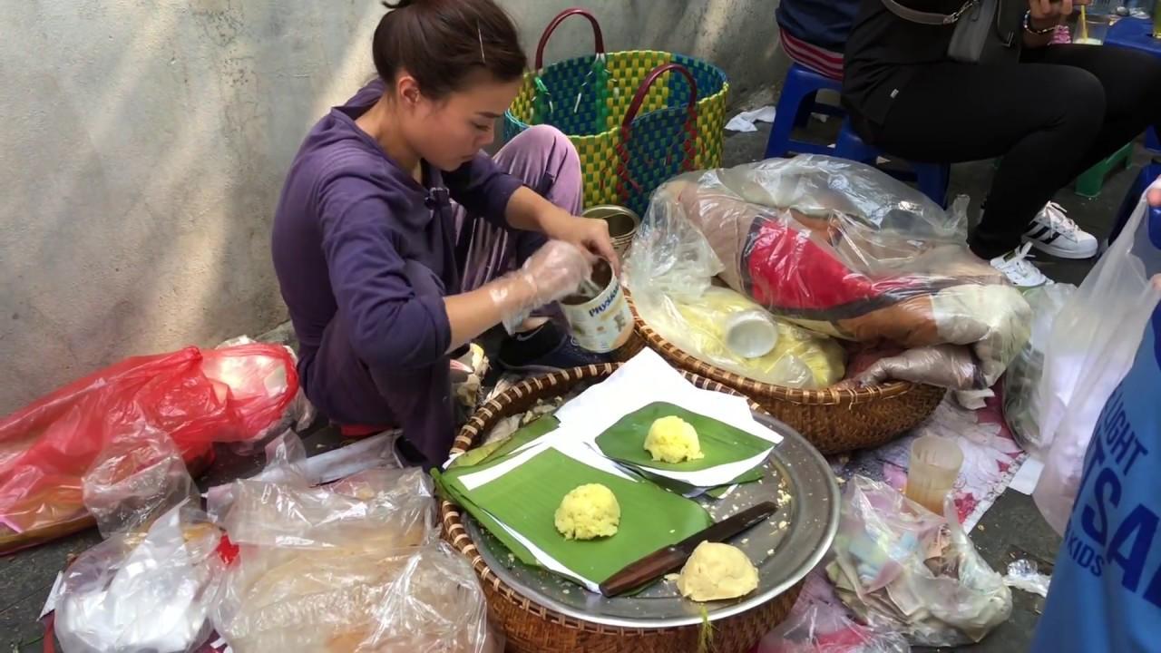 Gói Xôi Xéo cực kỳ nhanh (Xeo Sticky Rice – Yellow sticky rice with mung beans and fried shallots)