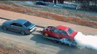 King of Drift Erdon Abdi  Debar BMW E30