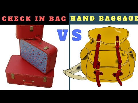HAND BAGGAGE AND  CHECK IN BAGGAGE ALLOWANCE LIMIT | HAND BAGGAGE | CHECK IN LUGGAGE | TRAVEL TRICKS