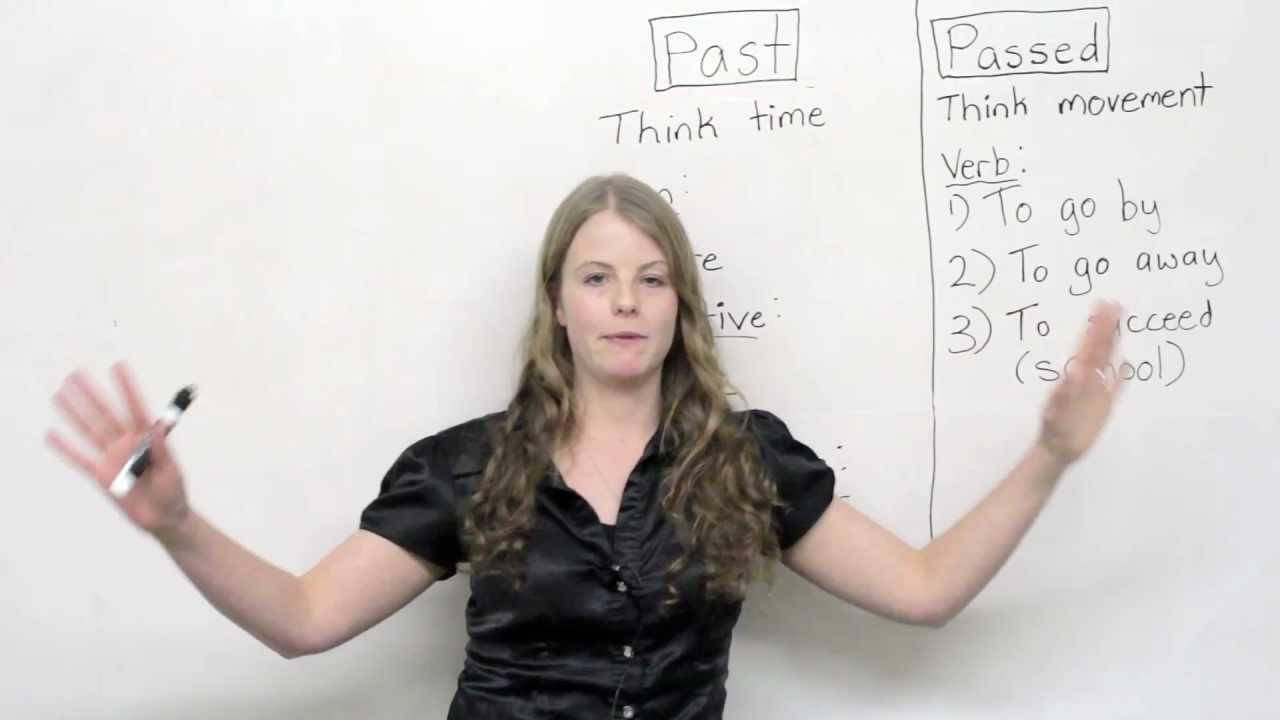 English Grammar - Passed or Past?