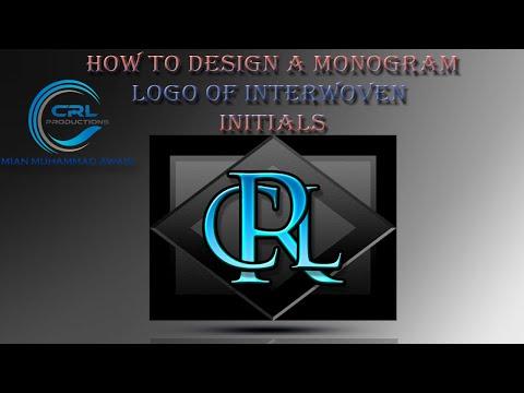 photoshop-tutorial:-how-to-design-a-monogram-logo-of-interwoven-initials