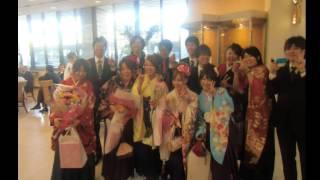 2012年度 米沢女子短期大学 卒業式 吾妻祭実行委員宛てのプレゼント BGM...