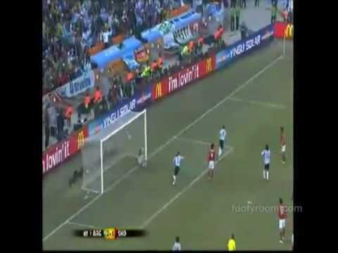 Bongda24h   Argentina biểu diễn sức mạnh tấn công trước  kẻ thách thức  Hàn Quốc