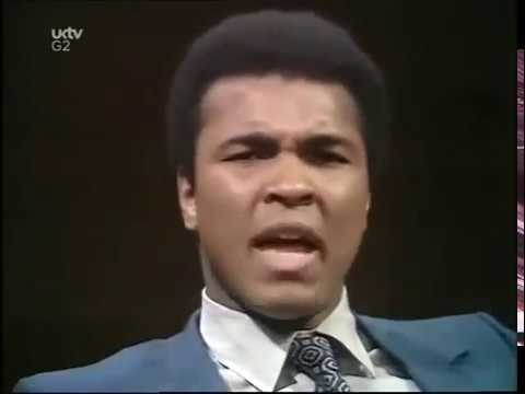 Muhammad Ali on Black Athletes and Speaking Out Against Injustice