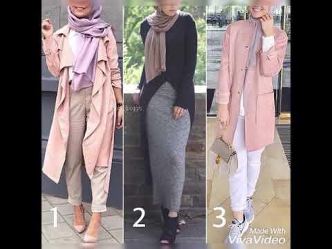 bbce9d634 ستايلات محجبات للصيف والربيع 2018 | Hijab Fashion for summer and spring 2018
