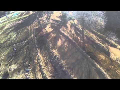 Motocross x Aerial video shoot at Dekoboko Land Chiba Japan