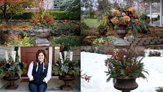 4 Winter Arrangement Ideas 🌲❄️