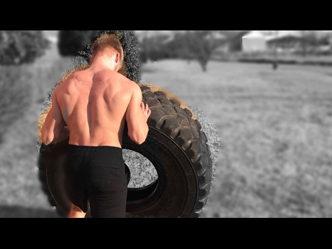 Outdoor Workout | Why I NEVER take Rest Days | Tire Flips + Farmer Walks