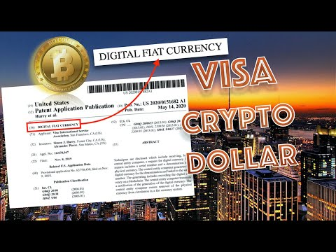 BREAKING NEWS! Visa Patent PUBLISHED For DIGITAL DOLLAR By U.S. PATENT OFFICE! Will Bitcoin EXPLODE?