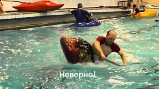 К соревнованиям по каяк-фристайлу на ровной воде