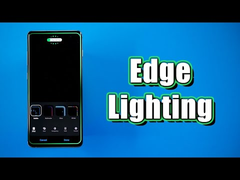 edge lighting tutorial for galaxy s10 s9 note 9