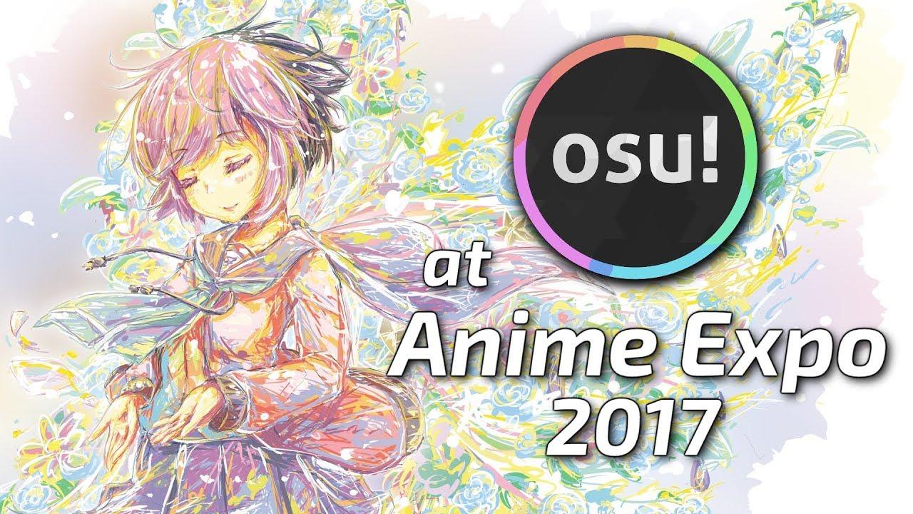 osu! at Anime Expo 2017