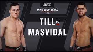 UFC GAME: Till x Masvidal   Edwards x Nelson