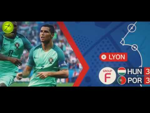 Portugal's road to the final UEFA EURO 2016 | All Goals