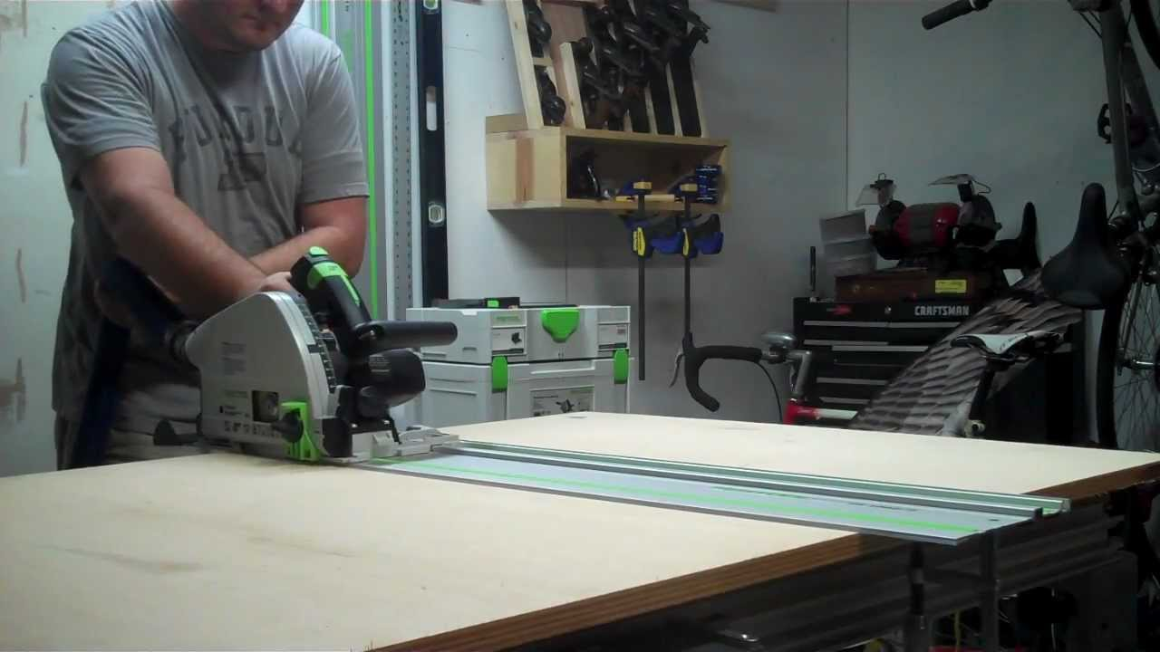 video 1 rip plywood with festool ts55 and mft 3 youtube. Black Bedroom Furniture Sets. Home Design Ideas