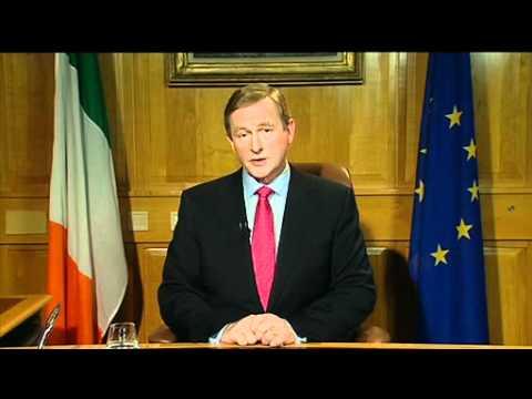Taoiseach Enda Kenny - Address to the nation