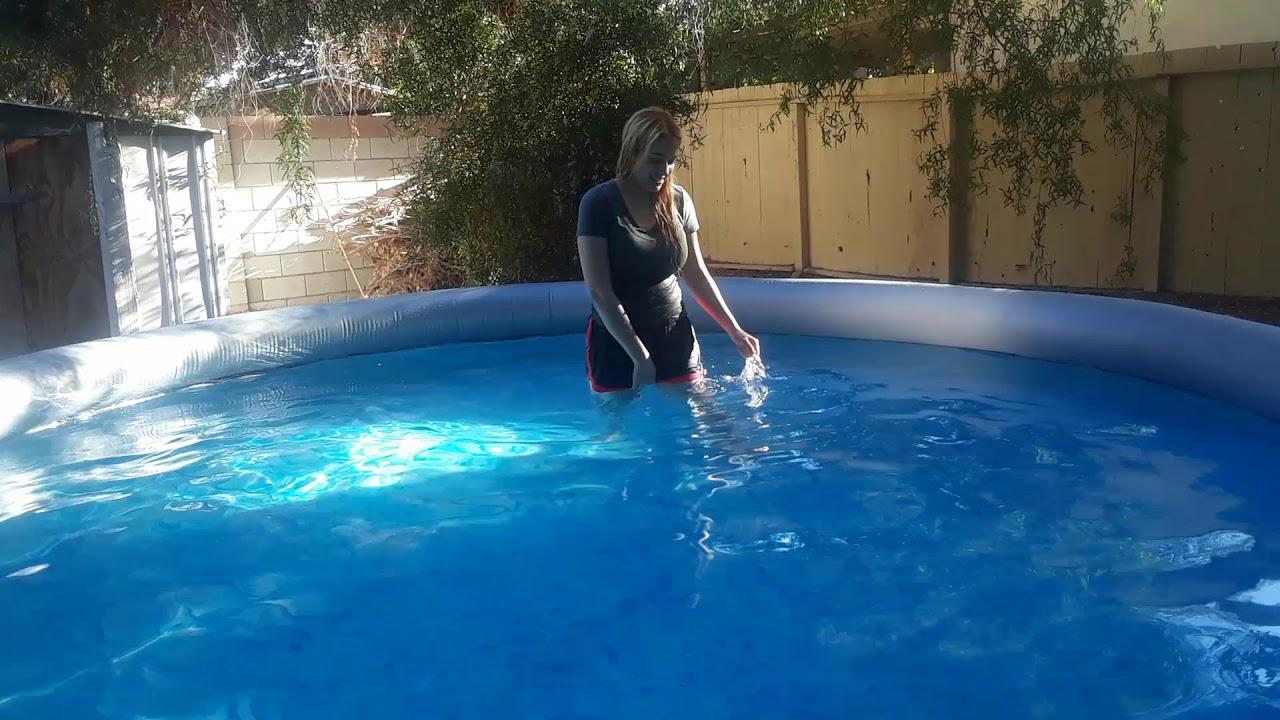 Bestway pool 14x36 review - YouTube