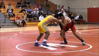 Daniel (Cal Hi) vs Omar (Whittier) 2012 wrestling