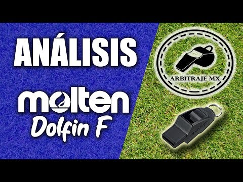 Silbato Molten Dolfin F | Unboxing, Análisis Y Prueba | Arbitraje MX