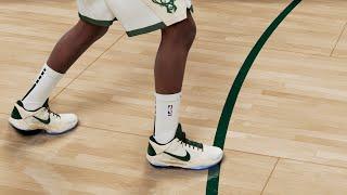 NBA 2k21 Shoe Creator Kobe V Khris Middleton PE