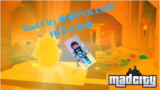 Roblox 🔴 Playing MAD CITY NEW UPDATE Mad City 👑PYRAMID HEIST👑! | Road to 100 subs