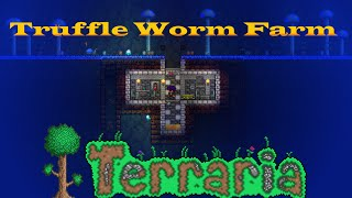 Terraria Quick and Easy Truffle Worm Farm