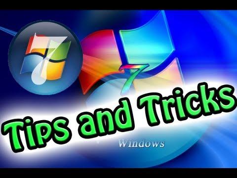 window 7 tips
