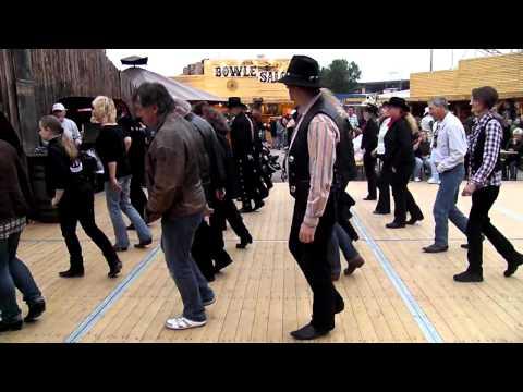 The Trail - Linedance auf dem Sommerdom in Hamburg 2011