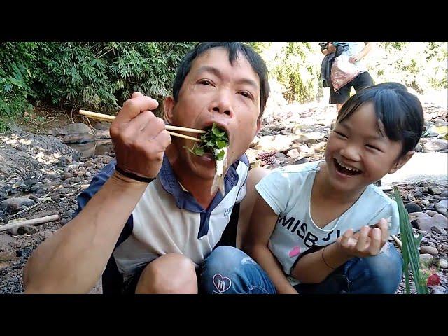 Ăn Gỏi Cá Nhảy Bờ Suối ✓ Poòng Văn Quỳnh