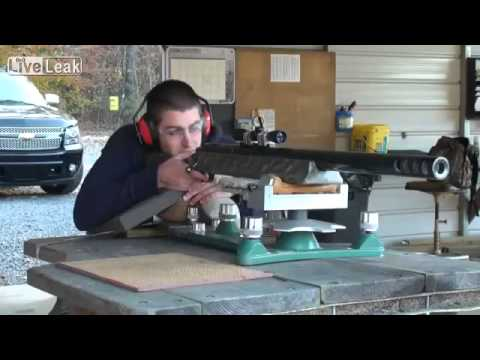Worlds Largest Caliber Rifle In Action 905 - YouTube