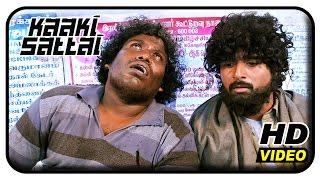 kaaki sattai tamil movie scenes sri divya mistakes sivakarthikeyan as beggar sri divya