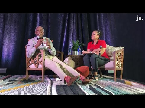 Actor Danny Glover tells a story in Milwaukee