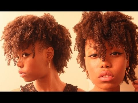 wash go short hair styles hair 3 easy wash and go hairstyles 3633 | hqdefault