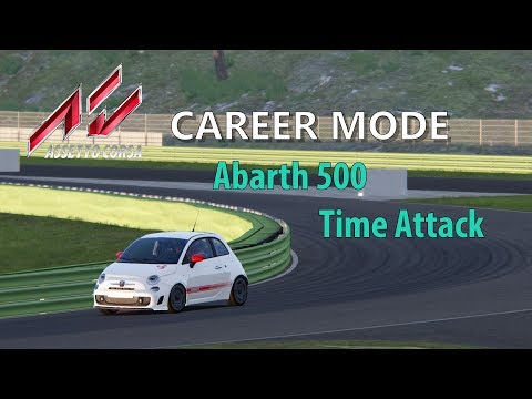 Single Player Saturday: Assetto Corsa Career: Fiat 500 @ Vallelunga Club Time Attack