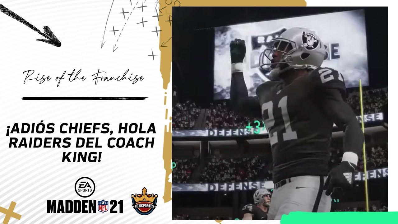 ¡Momento de subirse al tren del Coach King tras aplastar a Chiefs!| Madden 21:Modo Franquicia -Ep.11