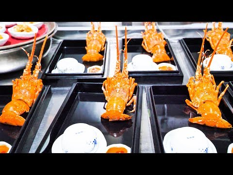 $300 World's THINNEST Noodle + INSANE LUXURY Chinese Food - HUGE Chinese Seafood FEAST - RARE!!!