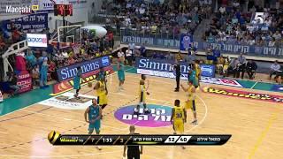 Winner-League: Hapoel Eilat 68 - Maccabi FOX Tel Aviv 82