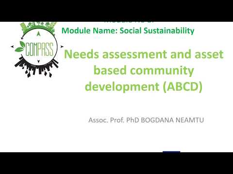 Lesson 2.1   Needs assessment  and asset based community development ABCD