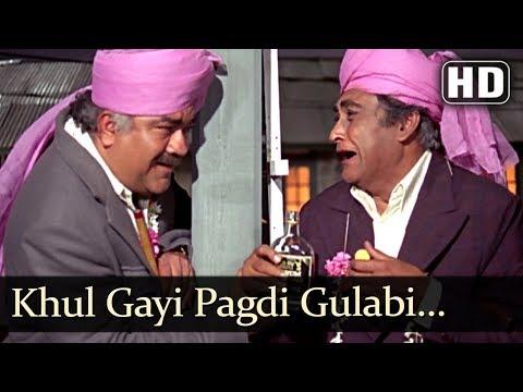 Khul Gayee Pagdi Gulabi (HD) - Aap Beati Song - Ashok Kumar, Prem Nath - Bollywood Songs
