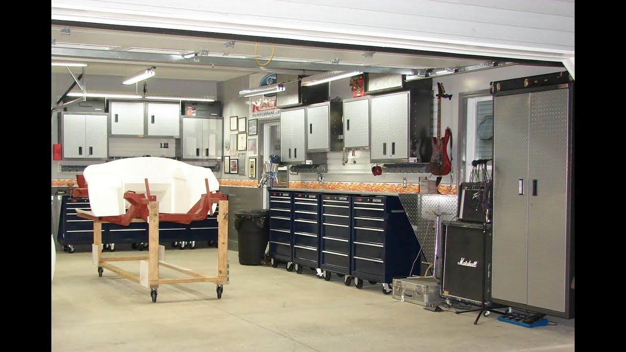 Man Cave Garage Accessories : Pete s garage youtube