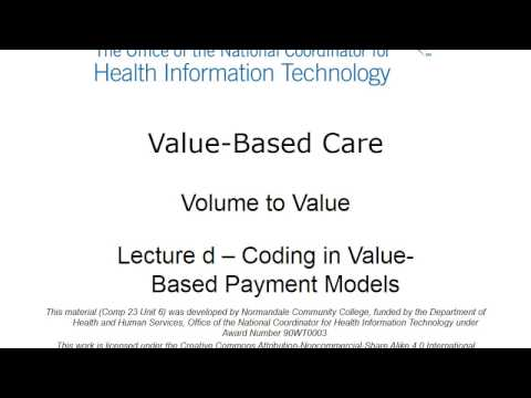 Coding in Value-Based Payments Models