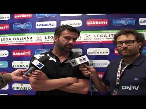 intervista a Christian Panucci post Gubbio-Ternana
