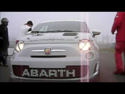 Abarth 500 Assetto Corse 2009 Fiat 500 For Track Youtube