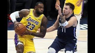 Los Angeles Lakers vs Dallas Mavericks   Full Highlights November 1, 2019 2019 20 NBA Season