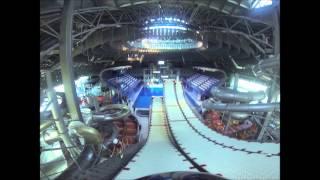 Сборная России по акробатике под крышей минского Центра фристайла  Май, 2015