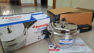 UnBoxing Butterfly Blueline Stainless Steel Pressure Cooker Unboxing Review and Its Benefits