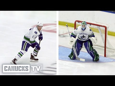 Brock Boeser and Thatcher Demko Mic'd up at Young Stars