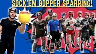 SOCK EM BOPPERS FOR KICKBOXING SPARRING?! Possibly......