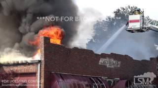 06-15-2017, Mount Airy, Maryland - Building on fire